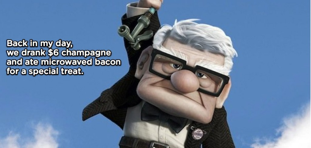 Me Impersonated Grumpy Old Guy From Up